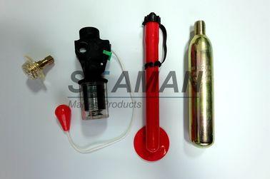إعادة - تسليح كيت التلقائية الحياة جهاز السترة اكسسوارات قاعدة صمام الفم أنبوب كليب