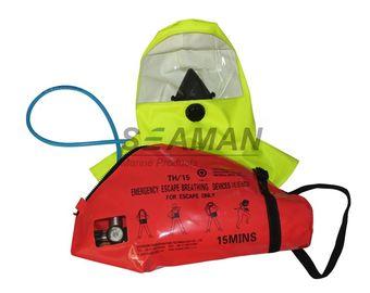 EC / MED 15 دقيقة مضغوط الهواء جهاز التنفس الهروب في حالات الطوارئ التنفس الأجهزة - EEBD